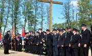 Gminny Dzień Strażaka - parada strażaków.