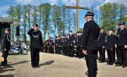 Gminny Dzień Strażaka - uroczysty apel i powitanie strażaków z OSP naszej gminy.