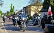 Rozpoczęcia sezonu motocyklowego - parada motocykli
